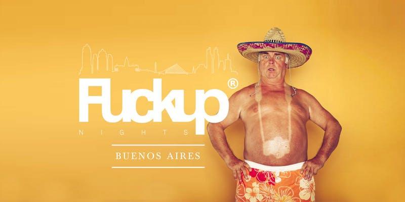 Fuckup Nights Buenos Aires Vol. 15