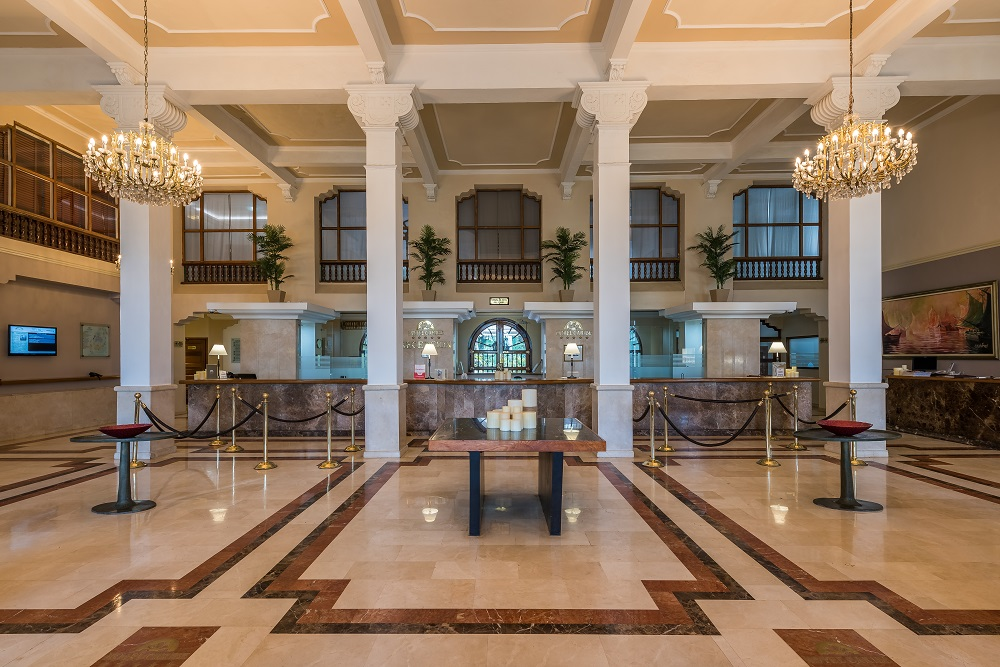 recepcion, hall, historico hotel caribe