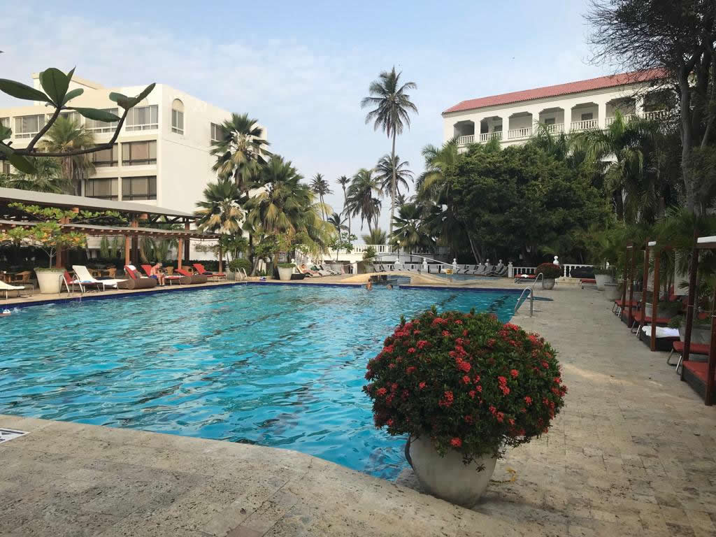 pileta olimpica hotel caribe