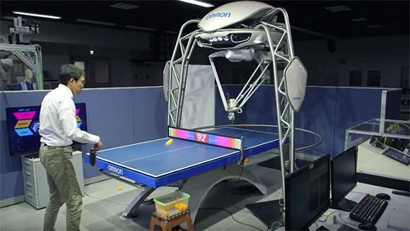 This Robot Can Beat You At Ping Pong