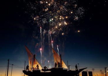 Hipnotizantes Fuegos Artificiales Japoneses