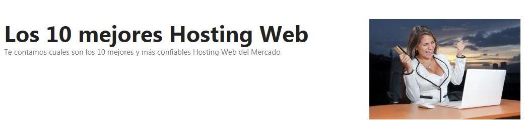 Estos son los 10 mejores Hosting Web