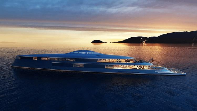 la nave mide 112 metros de largo