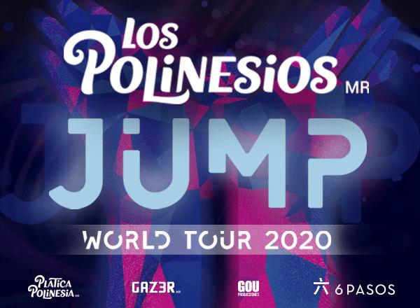 los polinesios jump world tour 2020