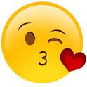 emoji beso