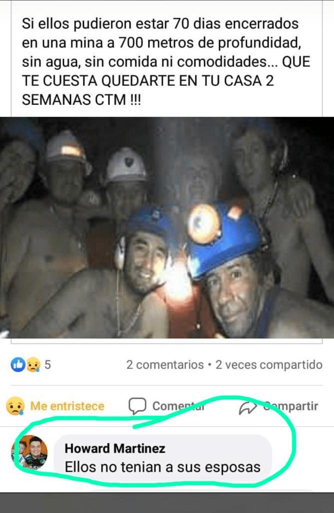 mineros chile - coronavirus