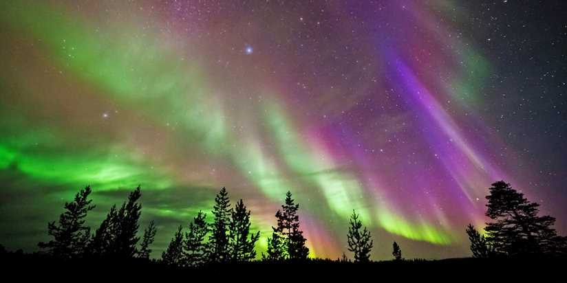 Disfruta de las auroras boreales